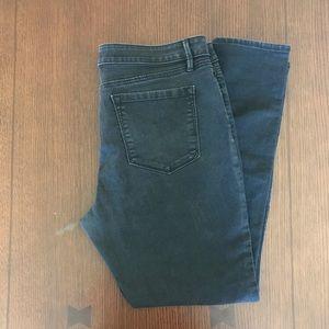 LOFT Jeans - ANN TAYLOR LOFT BLACK DENIM JEANS